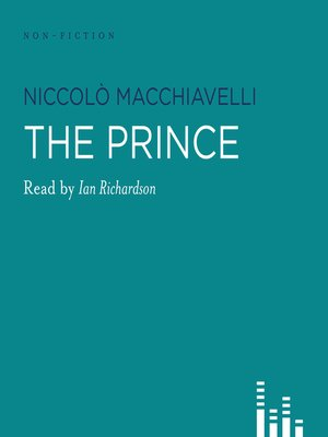 Click this cover for a(n) Audiobook sample of The Prince.