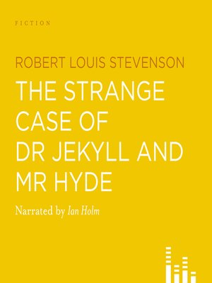 Click this cover for a(n) Audiobook sample of Dr. Jekyll and Mr. Hyde.