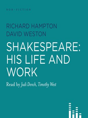 Click this cover for a(n) Audiobook sample of Shakespeare