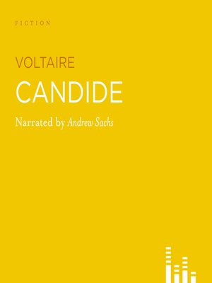 Click this cover for a(n) Audiobook sample of Candide
