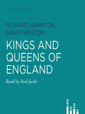 Click this cover for a(n) Audiobook sample of Kings and Queens of England.