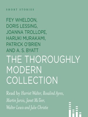 Click this cover for a(n) Audiobook sample of The Thoroughly Modern Collection.