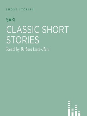 Click this cover for a(n) Audiobook sample of Classic Saki Stories.