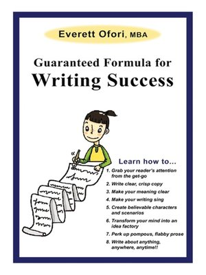 Click this cover for a(n) eBook sample of Guaranteed Formula for Writing Success.