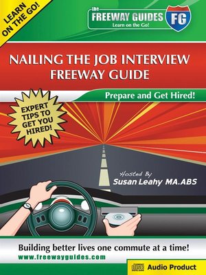 Click this cover for a(n) Audiobook sample of Nailing the Job Interview.