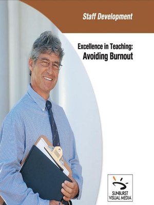 Click this cover for a(n) Video sample of Avoiding Burnout.