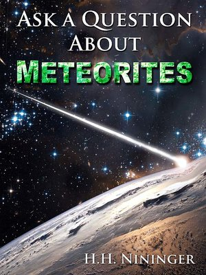 Ask a Question About Meteorites