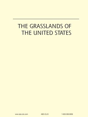 Cover of The Grasslands of the United States