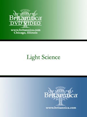 Click this cover for a(n) Video sample of Light Science.
