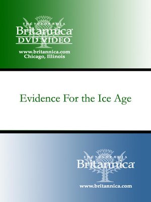 Cover of Evidence For the Ice Age