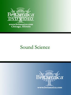 Click this cover for a(n) Video sample of Sound Science.