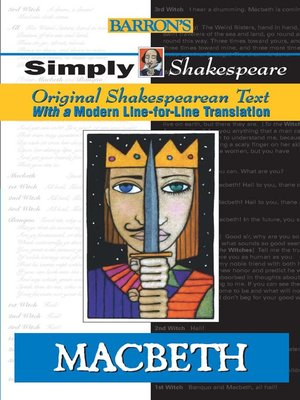 Click this cover for a(n) eBook sample of Macbeth