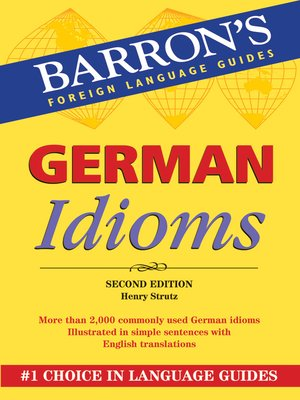 Click this cover for a(n) eBook sample of German Idioms