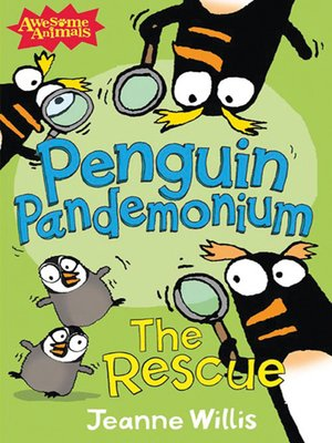 Click this cover for a(n) eBook sample of Penguin Pandemonium