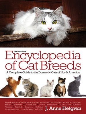 Click this cover for a(n) eBook sample of Encyclopedia of Cat Breeds.