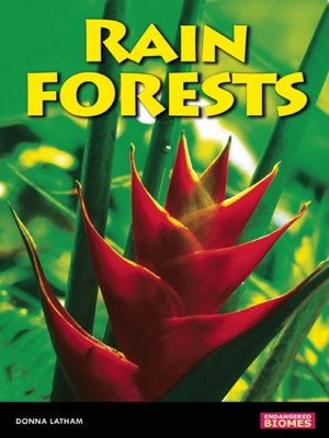Click this cover for a(n) eBook sample of Rain Forests