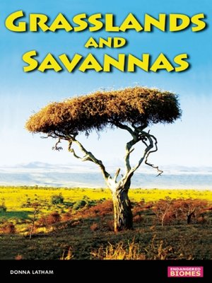 Click this cover for a(n) eBook sample of Savannas and Grasslands.