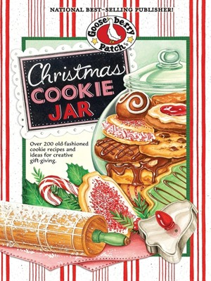 Click this cover for a(n) eBook sample of Christmas Cookie Jar Cookbook