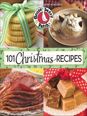 Click this cover for a(n) eBook sample of 101 Christmas Recipes.