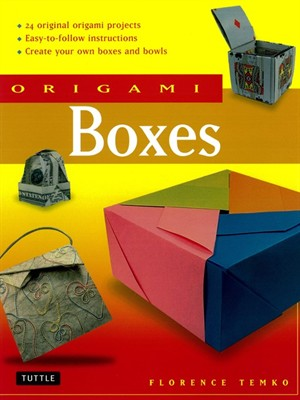 Click this cover for a(n) eBook sample of Origami Boxes.