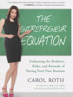 Click this cover for a(n) eBook sample of The Entrepreneur Equation.