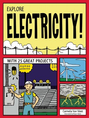 Click this cover for a(n) eBook sample of Explore Electricity!