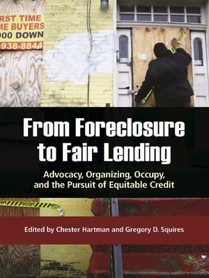 Click this cover for a(n) eBook sample of From Foreclosure to Fair Lending.