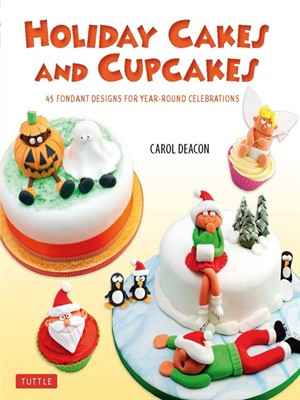 Click this cover for a(n) eBook sample of Holiday Cakes and Cupcakes