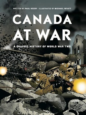 Click this cover for a(n) eBook sample of Canada at War.
