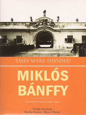 Cover of They Were Divided