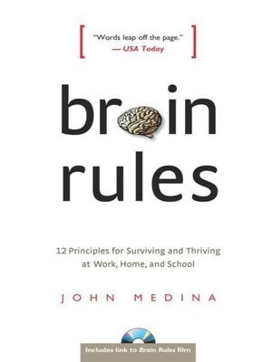 Click this cover for a(n) eBook sample of Brain Rules.