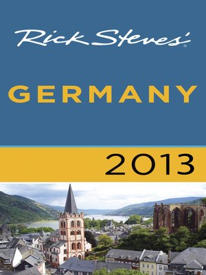 Cover of Rick Steves' Germany 2013