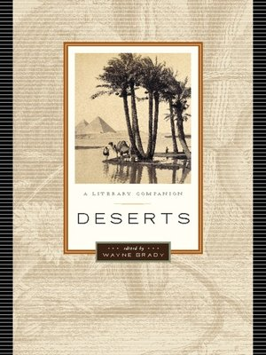 Click this cover for a(n) eBook sample of Deserts