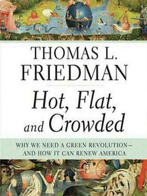 Click this cover for a(n) Audiobook sample of Hot, Flat and Crowded.
