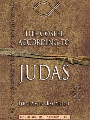 Cover of The Gospel According to Judas by Benjamin Iscariot
