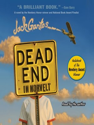 Click this cover for a(n) Audiobook sample of Dead End in Norvelt.