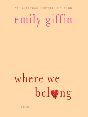 Click this cover for a(n) Audiobook sample of Where We Belong