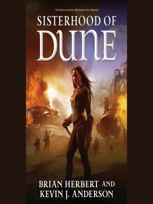 Click this cover for a(n) Audiobook sample of Sisterhood of Dune.