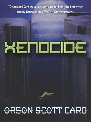 Click this cover for a(n) Audiobook sample of Xenocide.