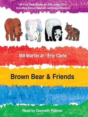 Click this cover for a(n) Audiobook sample of Brown Bear and Friends.