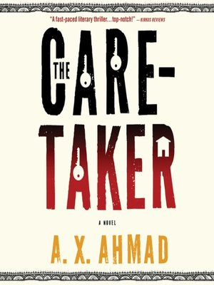 Click this cover for a(n) Audiobook sample of The Caretaker.