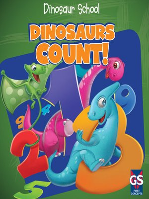 Click this cover for a(n) eBook sample of Dinosaurs Count!