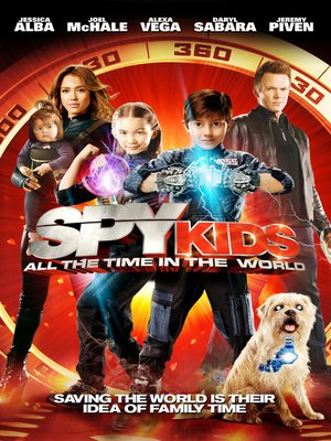Click this cover for a(n) Video sample of Spy Kids.