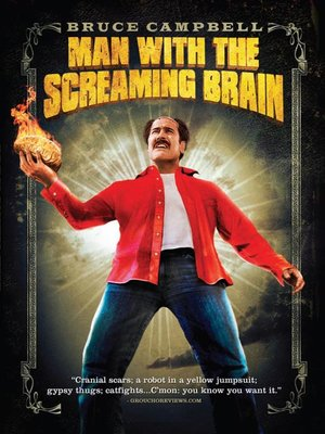 Click this cover for a(n) Video sample of Man with the Screaming Brain.