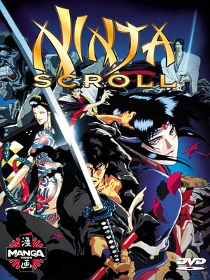 Click this cover for a(n) Video sample of Ninja Scroll