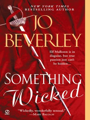 Click this cover for a(n) eBook sample of Something Wicked