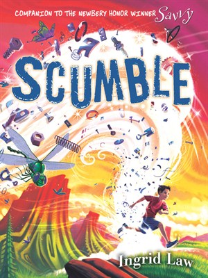 Click this cover for a(n) Audiobook sample of Scumble.