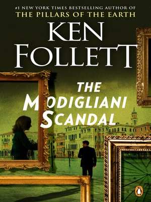 Click this cover for a(n) eBook sample of The Modigliani Scandal.