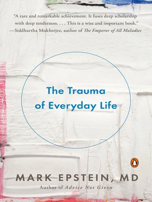 Cover of The Trauma of Everyday Life