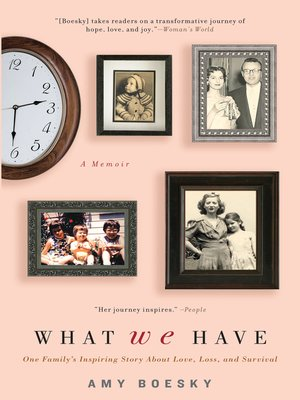 Click this cover for a(n) eBook sample of What We Have
